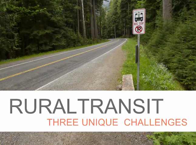How Transit technology can solve Rural Public Transit Challenges
