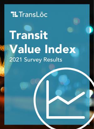 Transit Value Index Survey