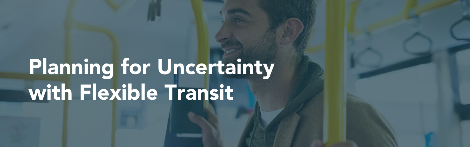 Planning for Uncertainty with Flexible Transit